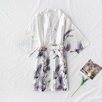 Damska moda satynowa szata kobieta bathrobe sexy peignoir femme jedwabiu kimono panna młoda szlafroki nocny rosną dla kobiet
