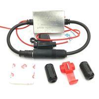 Car GPS & Accessories FM Signal Anti-interference Metal Antenna 12V Universal 88-108 Amp Mhz Radio Auto Q9N3