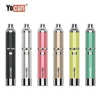Otantik Yocan Evolve Artı E-Sigara Kitleri 1100 mAh Pil Balmumu Yağı Buharlaştırıcı Kalem QDC Kuvars Çift Bobinli Vape Kalemleri ile