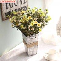 الزهور الاصطناعية pe رغوة 8 رئيس ديزي باقة حديقة الديكور بالجملة وهمية الزفاف المنزل 11PCS الزخرفية