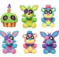 Novos cinco noites no brinquedo de pelúcia de Freddy Bonito pequeno urso meia-noite harem parede suspensão decoração crianças brinquedos presentes 18cm