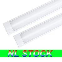 NL Stock 4feet Shop Light Fixture 54W LED Tube Lights 5400lm 6000K 4000K 3000K 3 color temperatures Lightss 120cm Garage Closet Lighting for Home Basement
