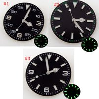 Repair Tools & Kits 29mm Green Luminous Watch Dial With Date Window Hands For NH35A MIYOTA 8215 8205 Automatic Movement