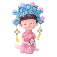 Altre forniture festive del partito 1pc Cake Creative Topper Style Chinese Style Resin Ornament Ornament