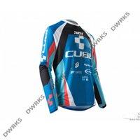 2021 Настройка Motocross Jersey Moto MTB Даунхилл Джерси MX Велоспорт Горный велосипед DH Maillot Ciclismo Hombre Быстрая сушка Джерси X0503