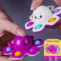 Fidget spielzeug fingerts spinner Push Bubble Fingertip Neuheit Sensorische Autismus Bedürfnissen Angst Reliever Party Geschenke DHL