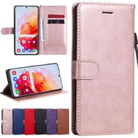 PU A52 A72 Wallet Soft Case for Galaxy Note 8 9 10 20 S5 S6 S7 Edge S8 S9 S10 S20 Fe S21 Puls Ultra Flip Phone Cover Bag