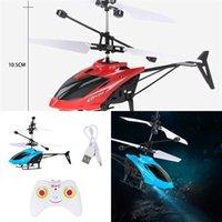 Mini Helikopter UFO RC Elektronik Için Için El Algılama Elektrikli Uzaktan Kumanda RC Uçak Uçak Drone Model Quadcopter Flayaball