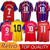 94 95 96 97 بايرن ميونيخ الرجعية الفانيلة 00 01 02 Final Zickle Effenberg Elber Pizarro Scholl Matthaus Klinsmann Shirts