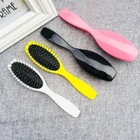 Hair Brushes Brush Piece Extension Training Head Steel Tooth Comb Pro Anti-static For Salon Styling Tool Scalp Massage Hairbrush
