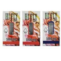 HI FLY Vape Cartridges Pod 0.8ml HIFLY Atomizers 510 Thread Tank Thick Oil Full Ceramic Empty Carts With Retail Packaging Sticker Choose