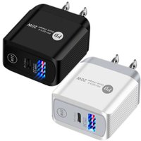type c charger 20W 18W EU US UK Ac Quick PD QC3.0 Wall chargers adapter For Iphone 11 12 Pro Max Samsung Tablet PC