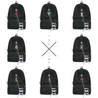 حقيبة يد رجالية BTS الرصاص الشباب مجموعة نفس الكرتون سلسلة الطباعة قلادة حقيبة الظهر حقيبة السفر في الهواء الطلق