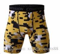 2020 großhandel sport shirt bodybuilding männerkompression enge hautstämme basis schicht strumpfhosen haut sportwear fitness yoga gym laufende shorts