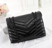Cosmetic Bags & Cases Women Leather Handbag Sheepskin Chain Shoulder Bag Lady Messenger Crossbody