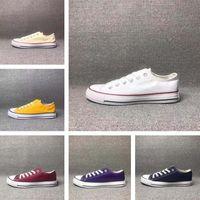 15 cores Tudo tamanho 35-46 Alta Baixa Baixa Tapetes Clássicos Sapatilhas Sapatilhas Homens Mulheres Casual Sapatos