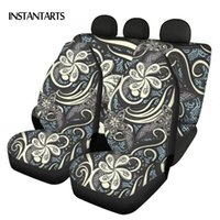 Retro Style Polynesian Pattern Comfortable Vehicle Seat Cove...