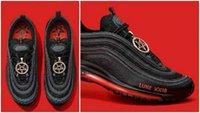nike air max airmax Cool MSCHF Lil Nas X Satan 97 chaussures de course pour hommes mode 97s luke haute qualité hommes femmes formateurs baskets de sport 36-45