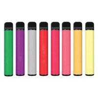 Одноразовые E-Cigarettes Puffbar Puff Bar Plus Plus 800+ Cod Cartridge 550mAh Несколько 80 Цветов Аккумуляторная батарея 3.2ML Предварительно заполненные Vape Pods Stick Portable Vaporizer