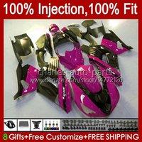 Injection OEM For KAWASAKI NINJA ZZR-1400 ZX 14R 14 R ZZR 1400 CC 06-11 Body 4No.157 ZZR1400 ZX14R 2006 2007 2008 2009 2010 2011 ZX-14R 06 07 08 09 10 11 Fairing purple blk