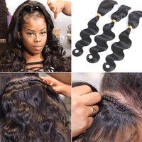 Fairgreat Braid In Bundles No Sew No Crochet No Glue Best Straight & Body Wave Human Hair Weave Natural color Virgin Hair Bundles Wholesale