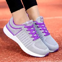 Tennis shoes Women Shoes Breathing Mesh Comfort Lace Up Outdoor Gym Sports Brand Sneakers Plate Mujer 0916