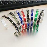 Bijoux mode BRASALETES Pulseras manchette en acier inoxydable bracelet en plaqué vintage bracelet pour hommes SPEED compteur Bracelets Good Wholesale