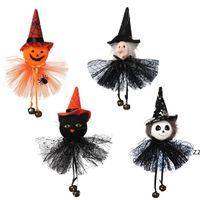 Party Saciosts Хэллоуин украшения висит тыква призрак ведьма кошка кукла кукна Heather House Bar орнаменты HWB8562