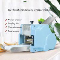 220 V Mała komercyjna kluska maszyna do skóry Okrągły Kwadratowy Kopka Wonton Samosa Samosa Pier Ravioli Ciasto Skin Wrapper Makered Makered Maker