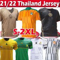 Cote D Idoire National Soccer Jerseys Jerseys Costa do Marfim Drogba Kessie Zaha Corneta Homens Homme Maillot de Foot Futebol Uniformes 2020 2021