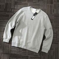 2020fw konng gonng printemps et automne hommes sweats à capuche à capuche de mode de haute qualité pull de haute qualité pull pull pull pull coton laine boucle pulls molletons