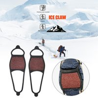 Cords, Slings And Webbing 1 Pair Anti-Skid Ice Gripper Winter Outdoor Climbing Walking Hiking Snow Shoes Covers Crampons For Size 35-43 Shoe