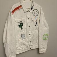 Jacketes masculinos Jack Impresso Jackboys Jackboys Homens Mulheres Top Quality Graffiti Bordado Hip Hop Casaco Design Roupas