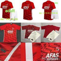 20-21 AZ Alkmaar Home Soccer Jersey 2020 2021 de sagacidade Stengs Boadu Camisa de futebol Kids Alkmaar Camiseta de Fútbol Maillot de pé Camisa