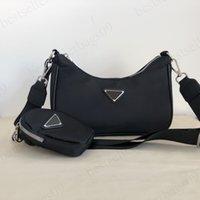 Diseñadores de lujo bolsas de bolsas bolso bolso bolso con bolsas + billetera pequeña 2 piezas bolsa casual alta quanlity