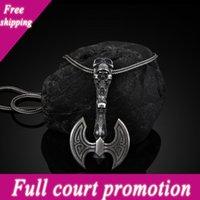 Pendentif collier d'amulette Viking Axe Populaire pour les hommes