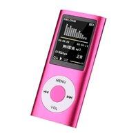 1.8 بوصة مشغل MP3 الموسيقى اللعب مع راديو FM سماعة فيديو 16 جيجابايت 32 جيجابايت 64 جيجابايت اللمس لهجة المعادن tf مايكرو sd الذاكرة mp4 اللاعبين