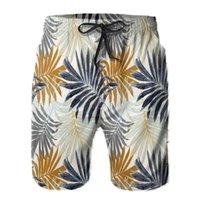 Hommes Shorts Hawaiian Style Beach Pantalons Gay Maillot de bain Polyester Surfer Flower Print Plateau Libre