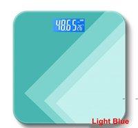 디지털 체중 스케일 욕실 지방 비늘 측정 전자 원형 코너 디자인 고정밀 측정 바디 컴포지션 FWF7811