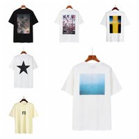 21SS Donne Designer Designer Off Nebbia Paura di Dio Essentials Bianco T Shirt T-shirt di lusso Tee Marca Tops Felpe con cappuccio Face Giacca Nord ESS Supre Shirt 32
