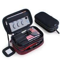 Bolsas cosméticas bolsa de maquillaje caja elegante impermeable viajes organizador caja de belleza kit de aseo para mini bolsa de inodoro