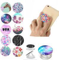 Support de support de téléphone cellulaire universel avec sac de téléphone portable extensible de sac d'OPP pour iPhone Samsung