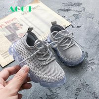 AOGT Spring Autumn Breathable Knitting Boy Girl Toddler Shoes Infant Sneakers Fashion Soft Comfortable Baby Shoes First Walkers Y201028 tRN