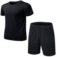 Esportes Masculinos Roupas دي ترينو فيراو Conjunto Dos Homens Terno Fitness Ternos Esportivos Manga Curta T Camisa Shorts SE Men's Tracksui