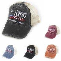 Teilen, um Partner zu sein Vergleichen mit ähnlichen Artikel Donald Trump 2024 Hüte S Hep America Toller Snapback Präsident Schnelltisch Hut 3D Stickerei Präsidentschaftswahlen