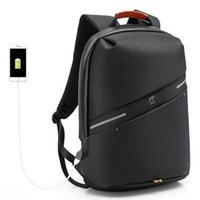 Backpack Men Fashion Business USB Charge Designer Laptop Waterproof Anti-theft Big College School Bags For Teenagers Boys 2021