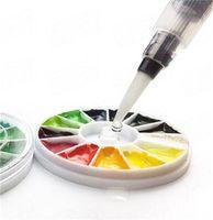 Farklı Boyut Doldurulabilir Kalemler Renk Kalemler Mürekkep Kalem Mürekkep Yumuşak Suluboya Fırça Boya Fırça Boyama Sanat Malzemeleri 222 V2