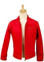 Superman Smallville Clark Kent Red Jacke Cosplay Kostüm Outfit Mantel