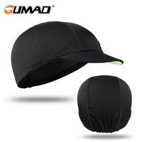 Summer Breathable Cycling Cap Sun Visor Beanie Baseball Running Hat Sport Bicycle Riding Elastic Hiking Caps Men Women Snapback & Masks