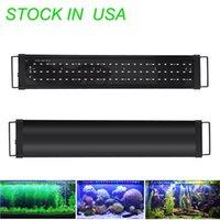 LED 플러스 식물 수족관 조명, 전체 스펙트럼 LED 물고기 탱크 탱크 빛 민물 식물